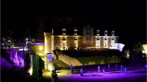 Vue Nocturne cour du Château Lsc 2016 ©St.Beerens