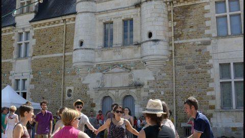 parquet cour du Château©St.Beerens