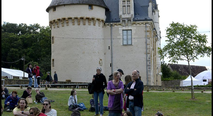vue chateau ,du parquets scène ouverte,©St.Beerens