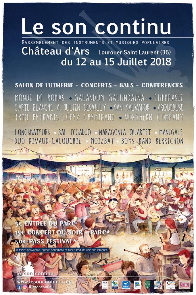 Affiche du festival Le Son Continu
